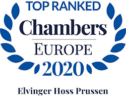 Chambers Europe Top Ranked Firm 2020