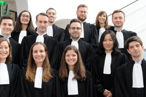Associates admitted to the Luxembourg Bar June 2017