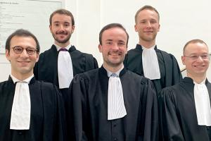 Congratulations to our associates for their admission to the Luxembourg Bar